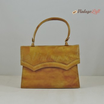 Simona Patent leather Handbag 70s